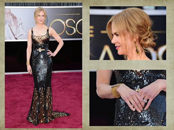 妮可·基德曼(Nicole Kidman)。(合成图片/取材自Getty Images)
