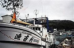 """宜兰苏澳渔船""""渔吉利126号"""",24日疑似进入日本鹿儿岛领海,遭日方扣押,外交部目前正与日本交涉处理中。(苏澳区渔会提供)"""