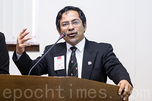 马来西亚国家肾脏登录咨询委员会主席暨研究员肾脏协会主席加扎利・阿迈德(Ghazali Ahmad)。(摄影:陈柏州 /大纪元)