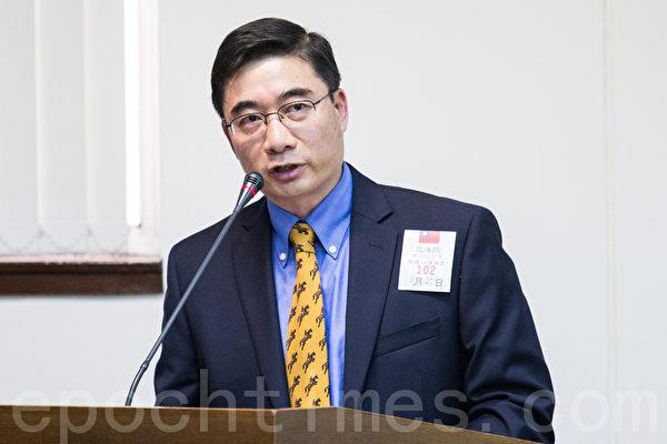 纽约詹姆斯彼得VA医学中心肾科主治医师徐建超(Jianchao Xu)。(摄影:陈柏州 /大纪元)