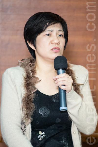 立法委员黄文玲。(摄影:陈柏州/大纪元)