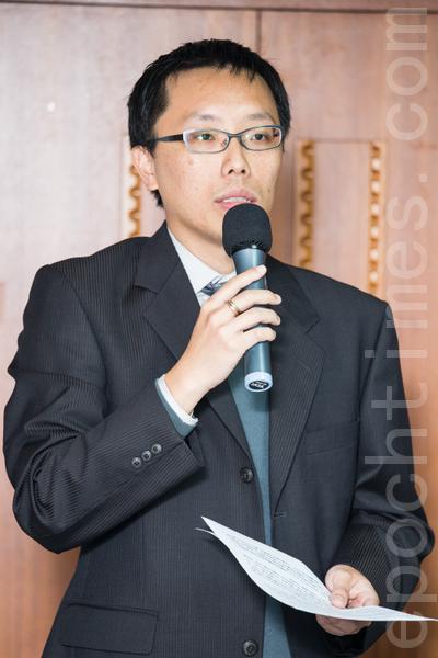 台北律师公会人权委员会主委翁国彦律师。(摄影:陈柏州/大纪元)