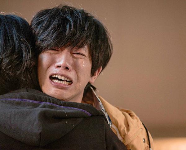 莫子仪片中压抑许久的情绪,在拍这场戏时完全大爆发。(图/台视提供)