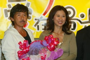 林子祥和老婆叶倩文资料图片(图/AFP)
