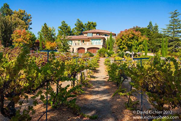这座四年新的地中海式的豪华住宅,坐落在风景宜人的Palo Alto Hill 高尔夫球场边上。(图片:德立昂地产提供)