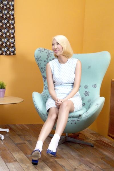 王若琳笑稱自己從小就是超愛動漫的「宅女」。(圖/台灣索尼提供)
