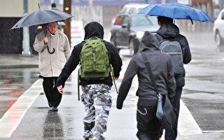大温连日大雨 交通受阻严重