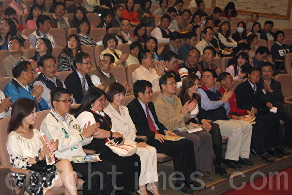 桃園縣12年國教說明會與會者超過千人。(攝影:徐乃義/大紀元)