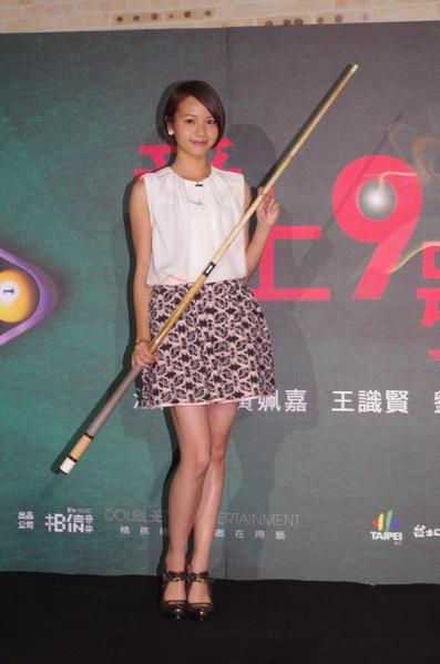 《愛上九號球》女主角黃姵嘉。(圖/相信音樂提供)