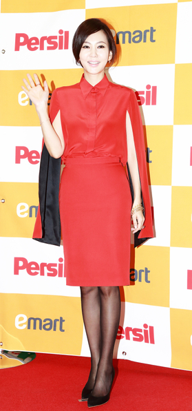 因出演《天橋風雲》中的宋慶琳紅遍亞洲的韓星金南珠。(攝影:全宇/大紀元)