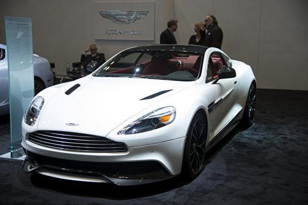 2013纽约国际车展 ASTON MARTIN(摄影:戴兵/大纪元)