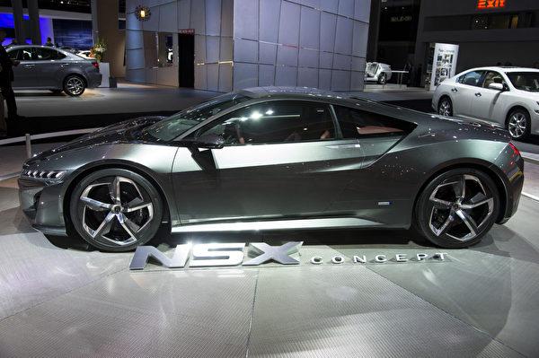 2013纽约国际车展 ACURA NSX(摄影:戴兵/大纪元)