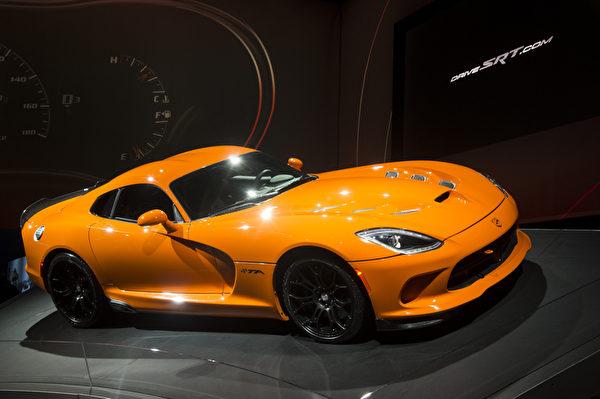 2013纽约国际车展 SRT TA (摄影:戴兵/大纪元)