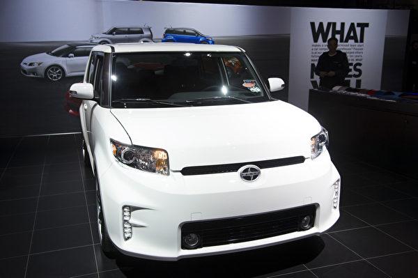 2013纽约国际车展 SCION XB(摄影:戴兵/大纪元)