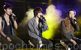 JYJ成员朴有天、金俊秀、金在中。 (图/ Prain提供)