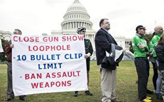 美国康涅狄格州桑迪胡克小学枪击惨案已逾百日,4月1日康州议会就控枪法达成协议,但全美枪改立法仍然受阻。图为康州纽顿呼吁控枪者在华盛顿特区发声抗议。(Photo by Getty Images)