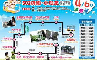 台湾好行小乌来(天空步道)线路线图(摄影:徐乃义/大纪元)