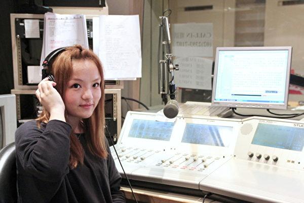 徐佳莹代班DJ。(图/Hit Fm提供)