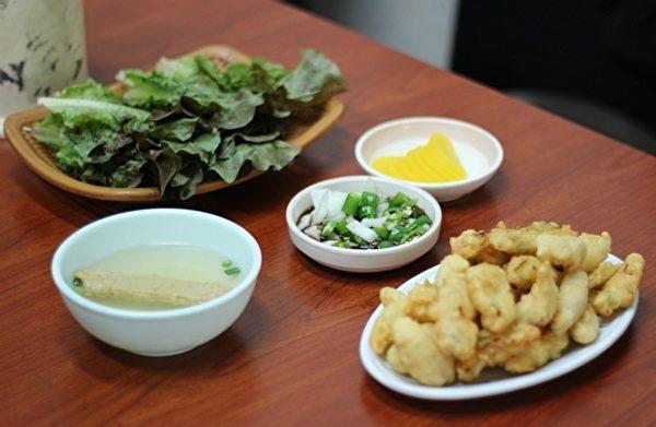 光州的美食 「清炸生菜」(網圖)