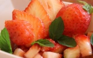 【舞动味蕾】法式草莓布丁Baked French Custard