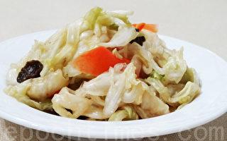 清脆爽口的梅醋泡菜真是酸酸甜甜的好滋味!(摄影:林秀霞 / 大纪元)