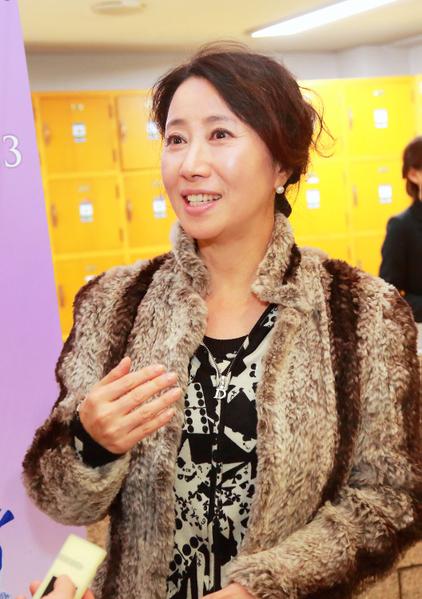 韩国知名演员、仁川电影人协会会长宋玉淑(摄影:全宇/大纪元)