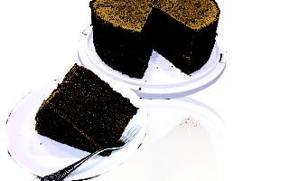 无油烟的大易美人厨房  全麦可可戚风蛋糕