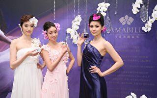 台湾顶级兰花保养品,将外销亚洲市场。(AMABILIS提供)