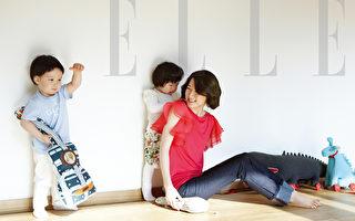 李英爱携儿女拍写真 《大长今2》无限期搁置