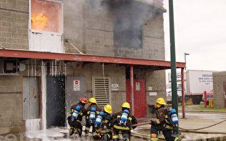 培養未來領袖 溫哥華中學生演習消防滅火