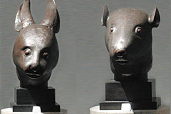 圆明园鼠首兔首流落海外150年 法富豪捐赠回国