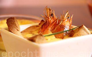 【舞动味蕾】法式鲜虾面包蛋塔shrimp toast Tart