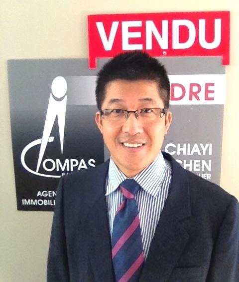 陈嘉宜先生,资深注册地产经纪人,Compas 地产经纪公司。(本人提供)