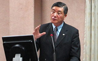 中華民國國防部長高華柱。(攝影: 鍾元 / 大紀元)