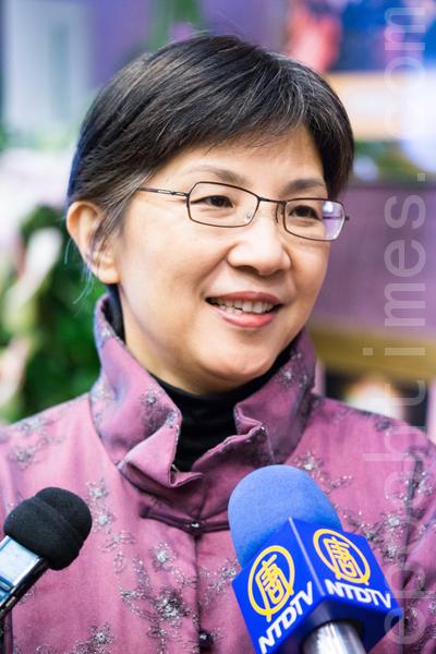 台大新聞所教授張錦華。(攝影:陳柏州/大紀元)