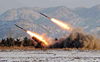 G20漢堡峰會召開前,朝鮮7月4日再次發射一枚彈導道彈。圖為朝鮮進行導彈試射。資料照片。(KCNA / KNS FILES / AFP)