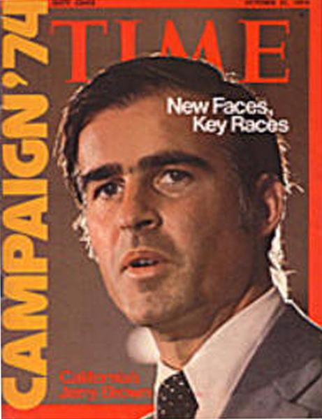 1975年,布朗競選州長獲勝,隨即簽署針灸合法化法案,開創公開傳播中醫新紀元。(陳大仁提供)