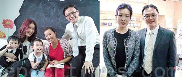 歐陽妙芝、林珊珊、唐安麒等為人父母的城中名人,都紛紛帶寶貝子女找Mark進行皮紋分析。(圖片│Mark Lee提供)