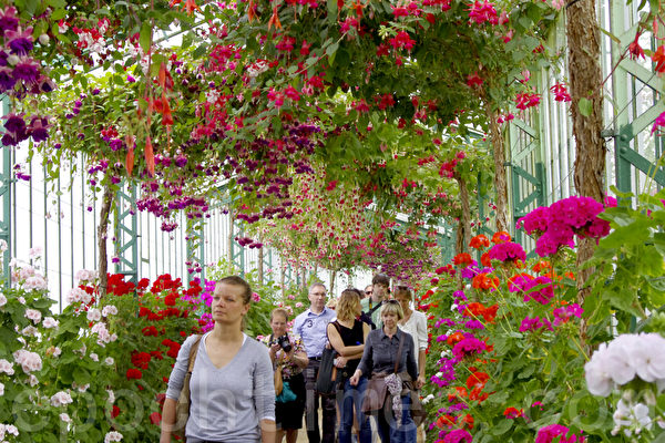比利時皇家公園對公眾開放。(攝影:蕭然/大紀元)