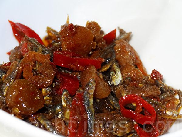鲜香带辣的XO酱是烹调的好帮手!(摄影:林秀霞 / 大纪元)