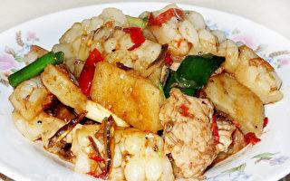 XO酱炒苦瓜是开胃下饭的美味佳肴!(摄影:林秀霞 / 大纪元)