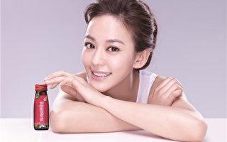台湾偶像剧女星陈意涵拥有青春水润肌。(图/白兰氏提供)