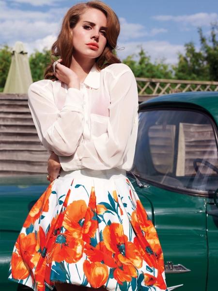 歌手拉娜‧德芮( Lana Del Rey)。(图/环球音乐提供)