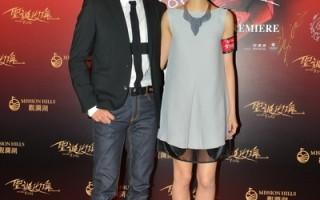 《圣诞玫瑰》香港首映 桂纶镁郭富城亮相