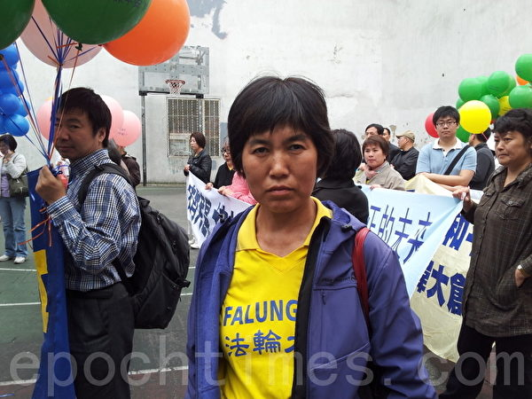 马三家劳教所幸存者、来自辽宁的法轮功学员赵素环。(摄影:陈天成/大纪元)