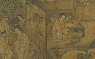 元人 画四孝图 卷。(故宫博物院提供)