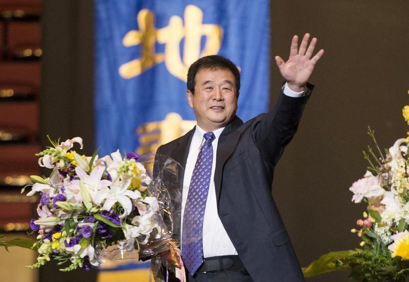 法轮功创始人李洪志先生,于1992年5月13日在中国东北的长春市将法轮大法首次向社会传出。(摄影:戴兵/大纪元)