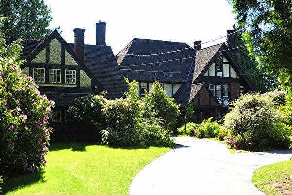 位於溫哥華的一間住宅價值850萬元是捐贈財富中的房產之一。(攝影:景浩/大紀元)