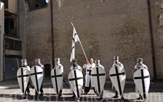 中世紀的武士。攝影:龔簡/大紀元