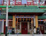 成立於1854年的駐美中華總會館,自民國以後一直沿掛青天白日滿地紅旗。(攝影:曹景哲/大紀元)